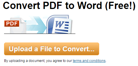 convert pdf to word full document