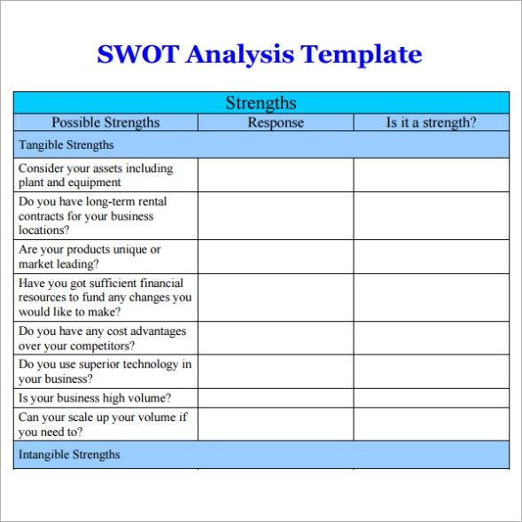 current state analysis document template