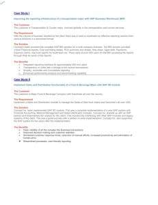 sap functional specification document sample