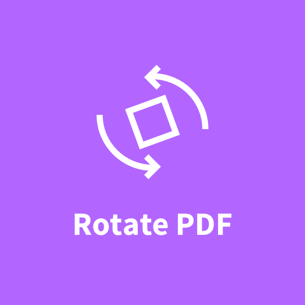 how to save rotation of pdf document