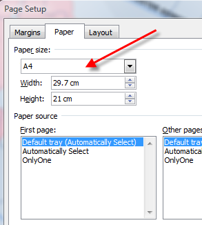 how to make word document landscape specific pages