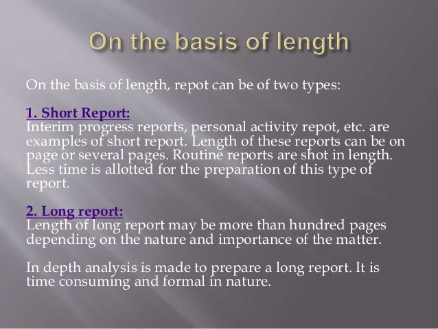 difference between report and document