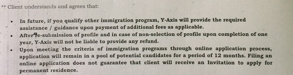 documentation asked for permanent resident