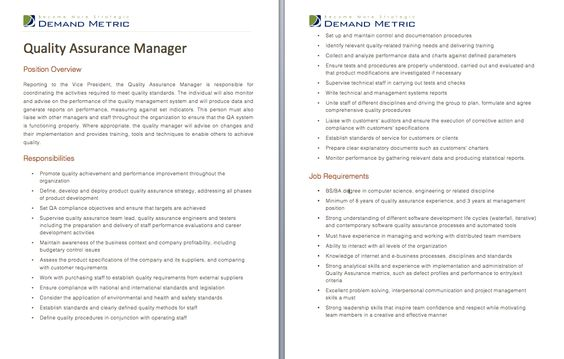 documentation executive job description
