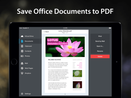 webpage document to pdf converter