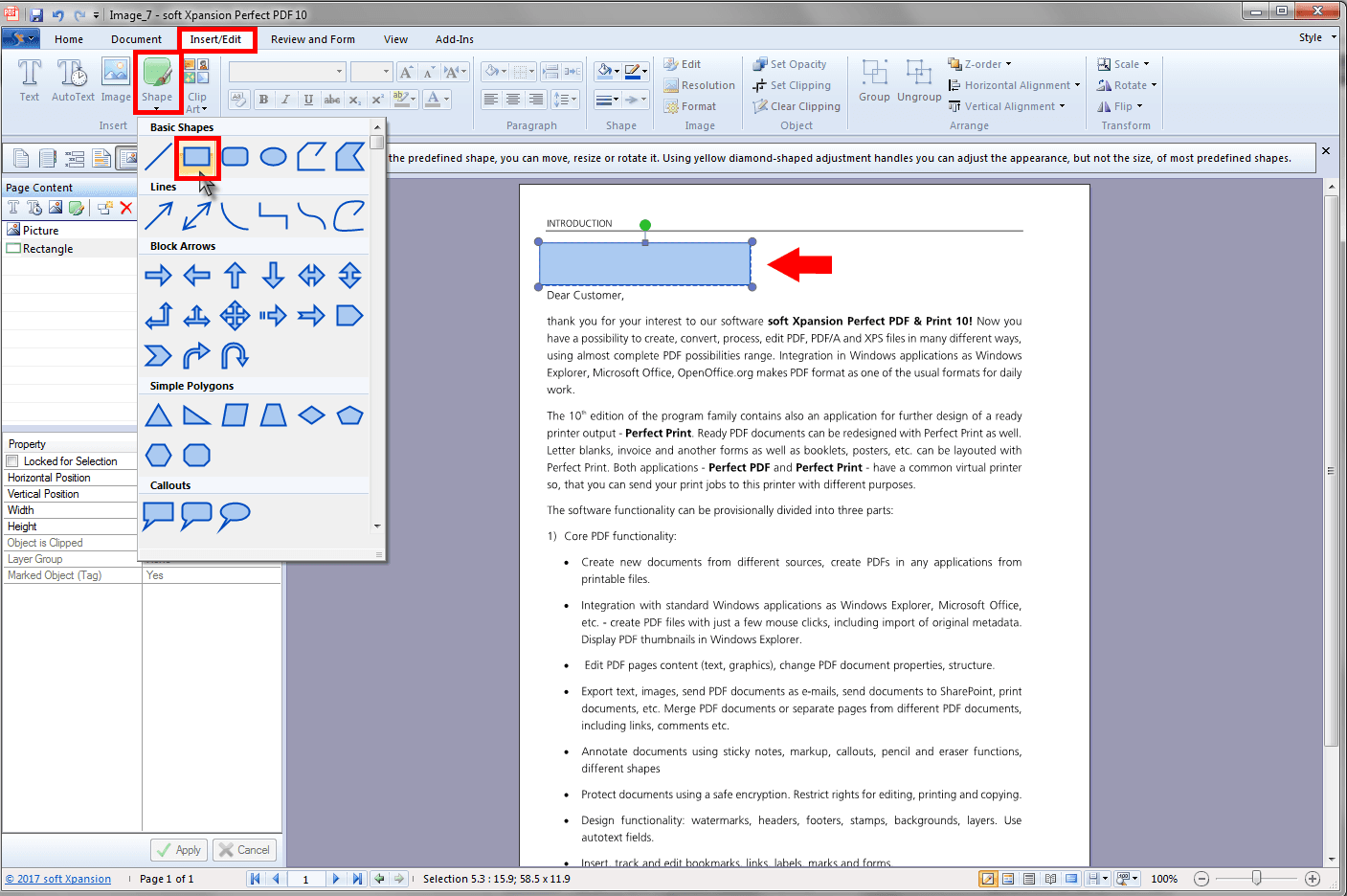 how to put a document in pdf