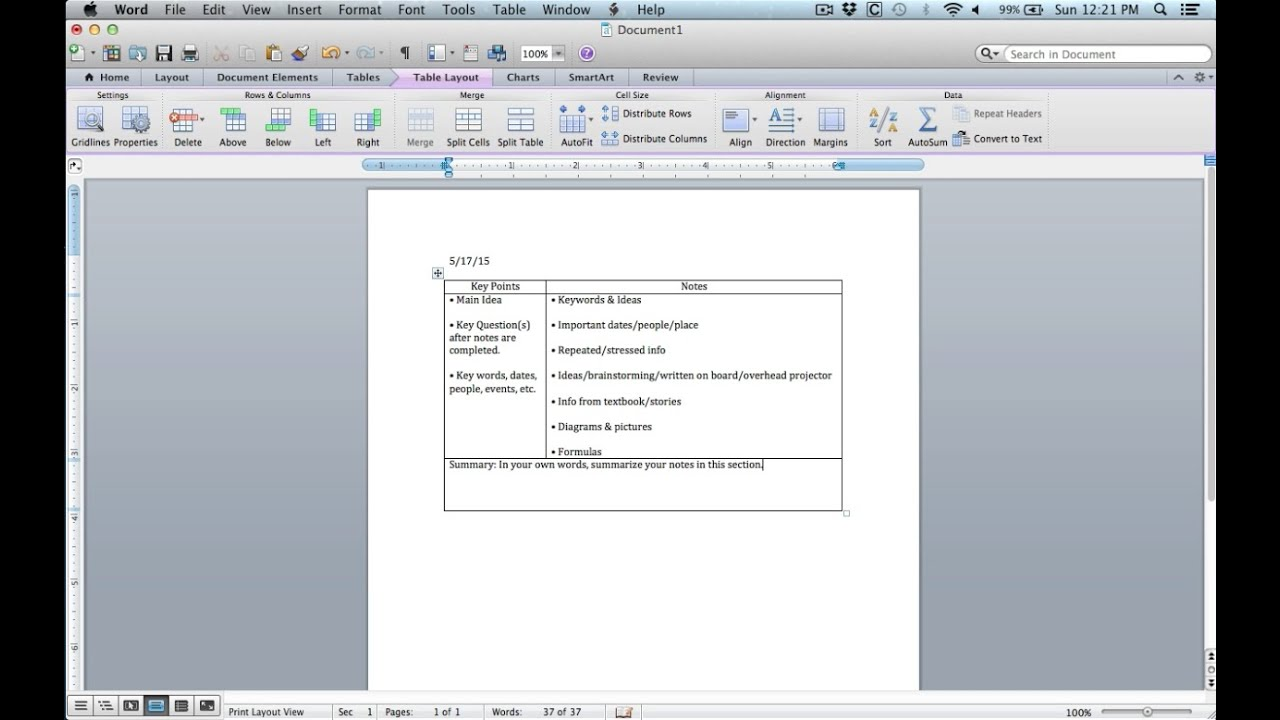 take password off word document