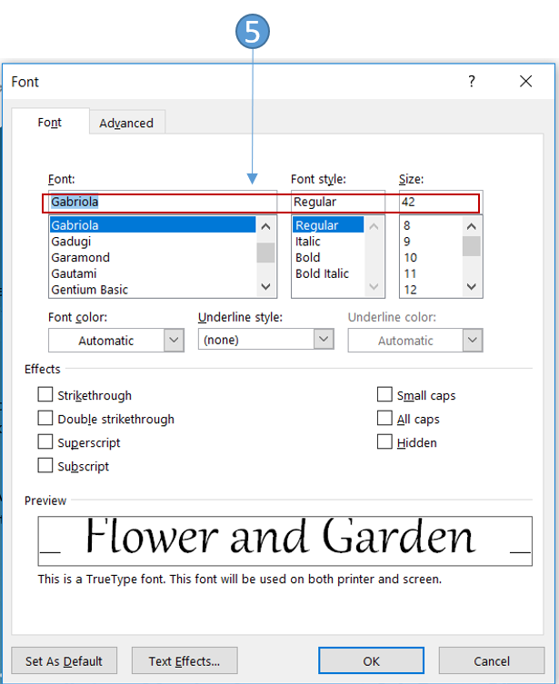 how do i cancel the tab on word document