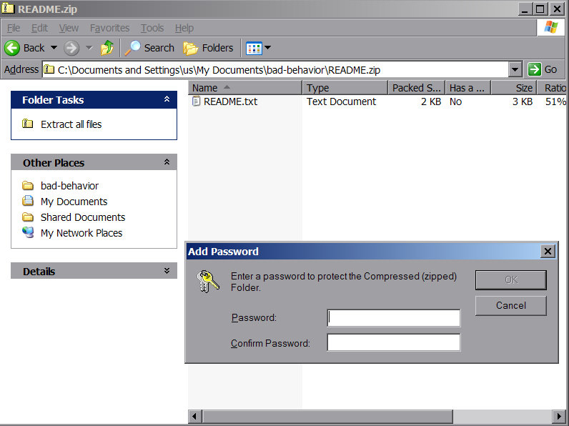 how do you protect a word document with a password