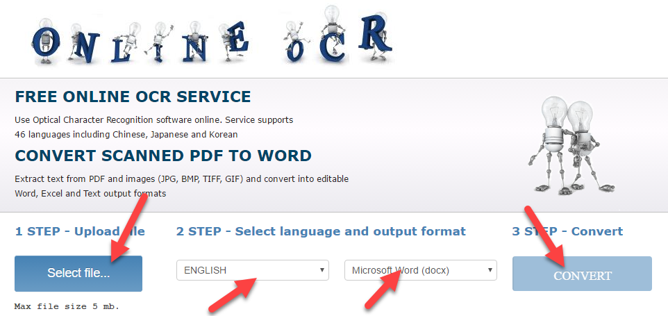 how to convert pdf file into word document online