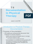 how to document range of motion occupational therapy