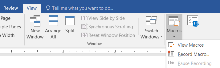 how to get ruler on word document 2018