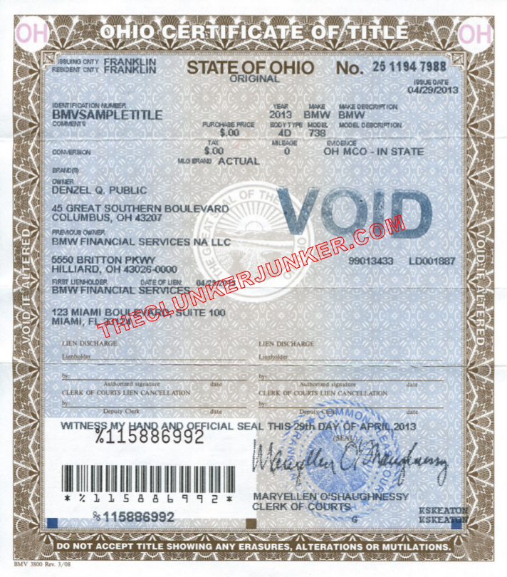 how to notarize a document in ohio