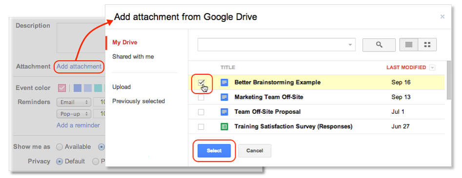 how to save a word document to google drive