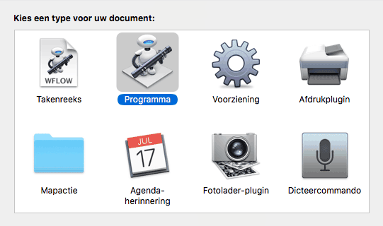 how to stop workflow document on mac