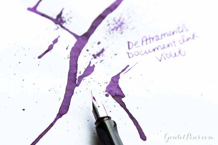 legal document fountain pen ink
