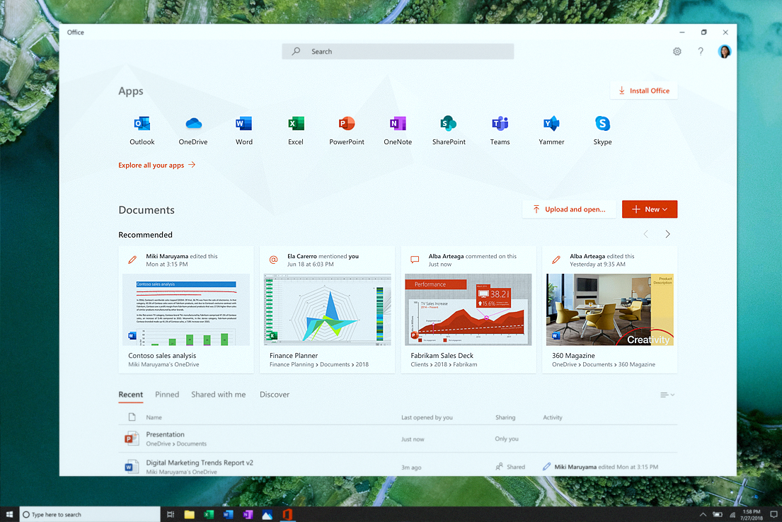 microsoft office document imaging download for win10