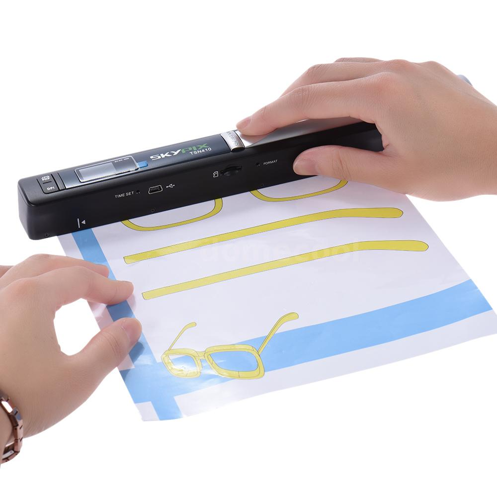 portable document and receipt scanner
