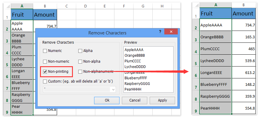 remove line breaks in a text document