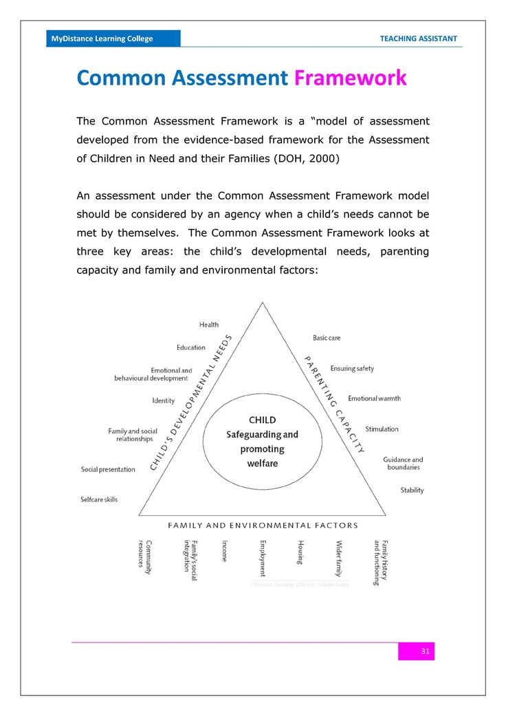 skill assessment vocational placement document