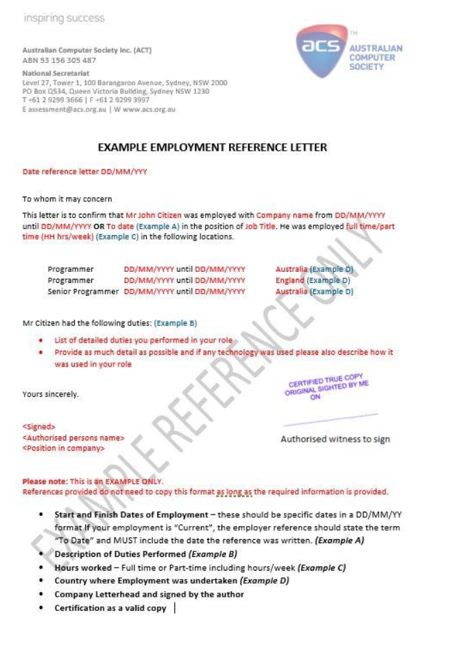 skilled independent visa subclass 189 document checklist pdf
