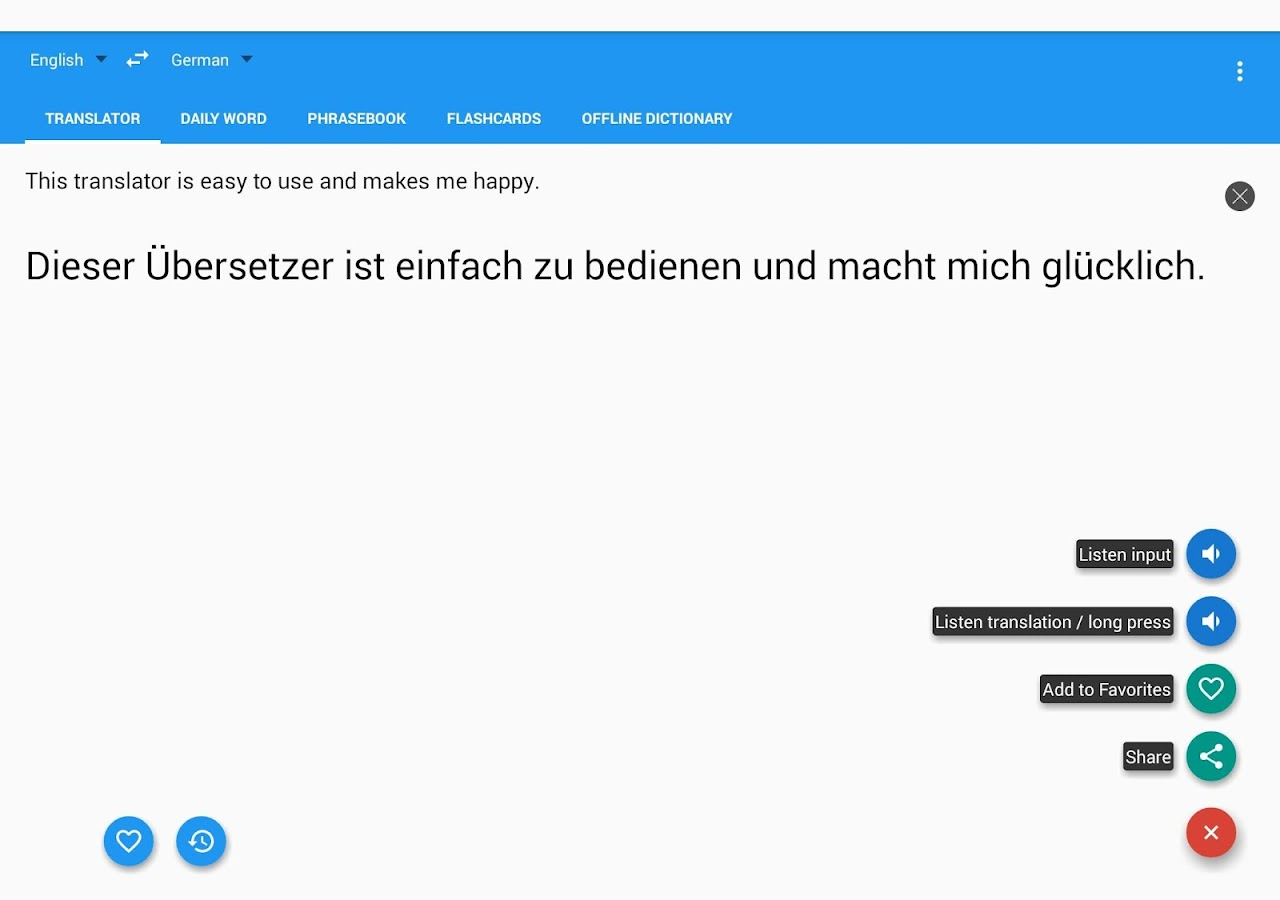 translate german to english document free