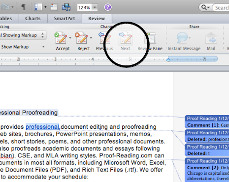 word document keeps tracking changes